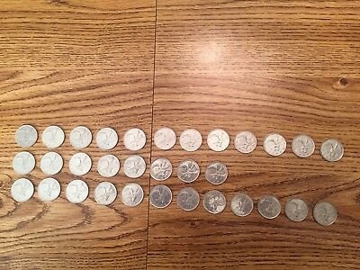 $8.00 of Canadian Quarters