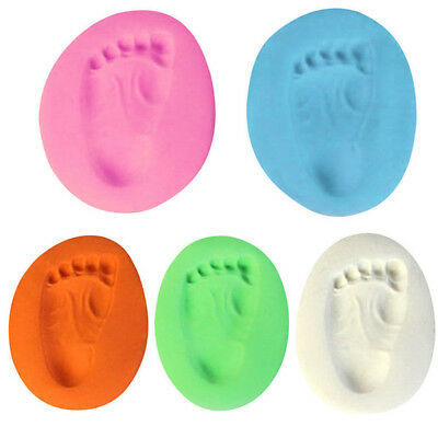 Air Drying Clay Super Soft Newborn Handprint Footprint Imprint Casting Print Kit