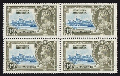 """NORTHERN RHODESIA : 1935 Silver Jubilee  VARIETY """"dot to left of Chapel"""" MNH **"""