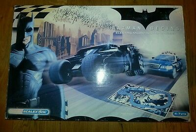Batman Begins Micro Scalextric Racing Set
