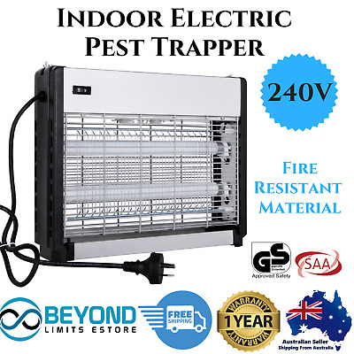 Indoor Electric CCFL Insect/Mosquito/Pest Trapper silver