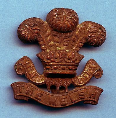 Great Britain Welsh Badge WW1 (40 mm x 38 mm)