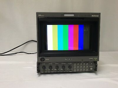 Sony Bvm-D9H5U Trinitron Color Video Monitor Options 124Hd Sdi,129X