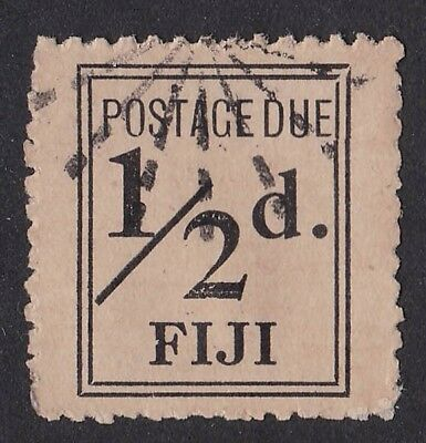 FIJI 1917 Postage Due wide setting ½d SG cat £500 RARE!