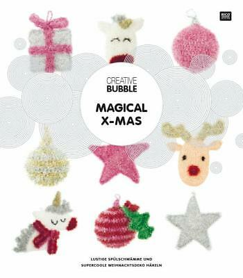 Rico-Design Creative Bubble Magical X-Mas AnleitungsHeft 978-3-96016-079-3