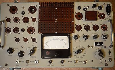 Tube tester L3-3 from Soviet 1972 year