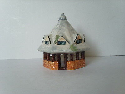 "Vintage DUNSTER Somerset YARN MARKET Tey Pottery ORNAMENT Small 7.5 cm 3"" high"