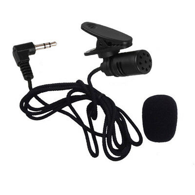 NEW Mini 3.5mm TieLapel Lavalier Clip On Microphone Portable Lecture Teaching US