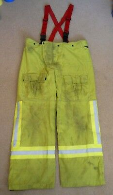 Obsolete Nsw Fire Brigades Turnout Trousers Fireman Firefighter Pants~Size 95