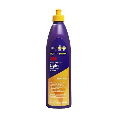 3M 36109 Perfect-It Gelcoat Light Cutting Polish + Wax 473 ml