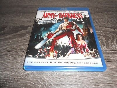 Army Of Darkness Screwhead Edition Blu Ray Movie