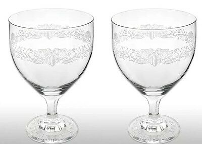 Hendricks Gin Glass Goblet X 2