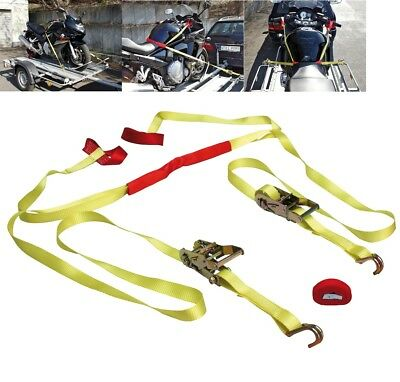 MOTO KIT SANGLE ARRIMAGE REMORQUE prise AU GUIDON JET SKI QUAD MX 10323 ETC