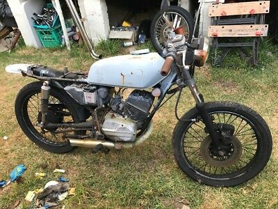 yamaha rx 125 cafe racer for resto or parts