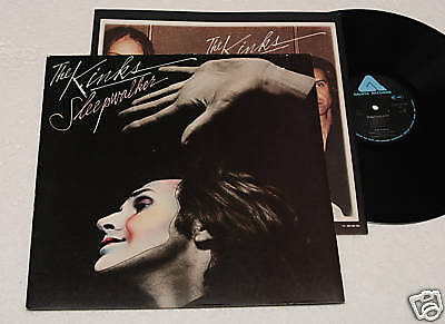 The Kinks:lp-Sleepwalker-Originale 1977+Inner Nm !!