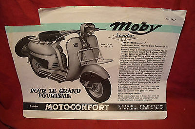 Motobecane Mobyscooter , Publicite