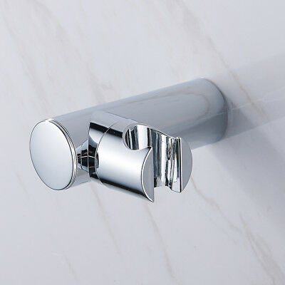 Shower Head Holder Replacement Bracket Bathroom Wall Mounted Hand Hose Chrome UK