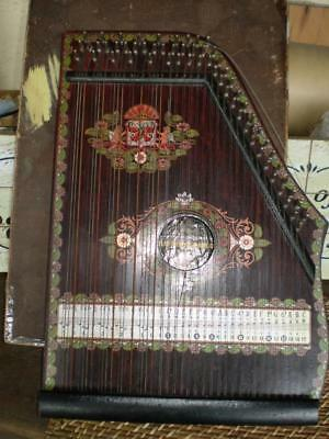 vintage Zither/ autoharp original austral school of music lessons  & information