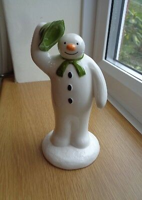 First Edition The Greeting Coalport Snowman Figurine