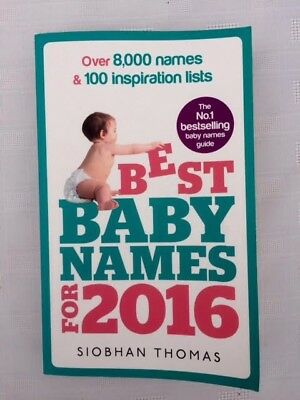 Best Baby Names for 2016 by Sionhan Thomas