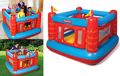 "Bouncetastic Inflatable Bouncer with 50 Play Balls pits Tots 69"" x 68"" x 53"""