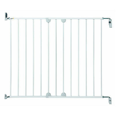 Baby Safety Metal Gate Secure Pressure Fit Stairs Fence Dog Pet Child Protection