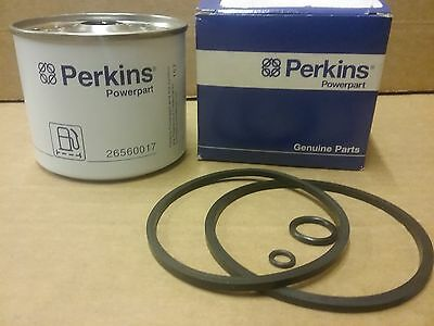 Genuine Perkins Fuel filter  Part No  26560017      Fleetguard FF167