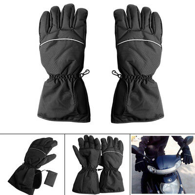 Waterproof Heated Gloves Battery Powered Motorcycle Hunting Winter Warmer Gloves