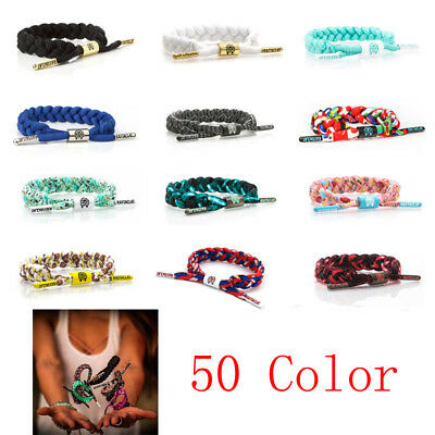RASTACLAT Multiple Classic Wristband Shoelace Bracelet Wristband 50 Colors