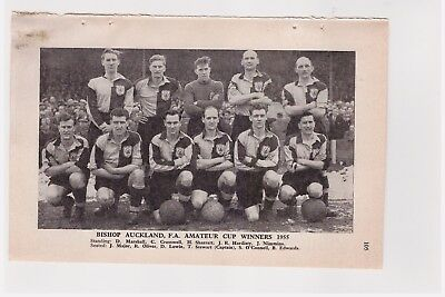 Team Pic from 1955-56 Football Annual - BISHOP AUCKLAND