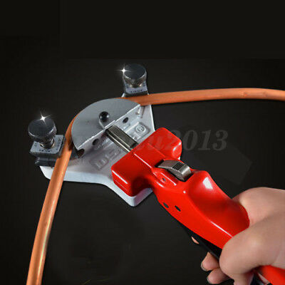 WK-666 Multi Copper Pipe Bender Tube bending Hand Tool Kit with Tube Cutter