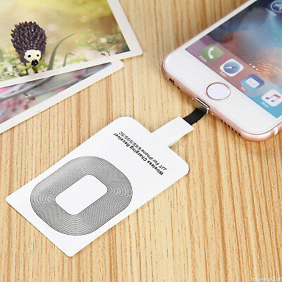 Universal Qi Wireless Charger Power Charging Receiver Kit For iPhone 6 7Plus HU1