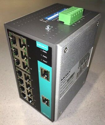 Moxa EDS-316 Industrial Unmanaged Ethernet Switch