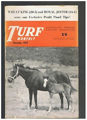 December 1959 & August 1961 Turf Monthly