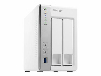 QNAP TS-231P NAS 2Bay (No Disc), 1Gb Server