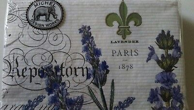 """""""Lavender Rosemary"""" 15 Hostess Triple-Ply Paper Napkins by Michel Design Works"""