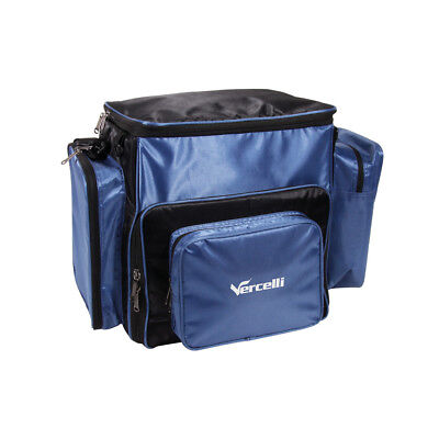 Vercelli large back pack, with a vercelli cool bag, spool bag, 2 tackle boxes.