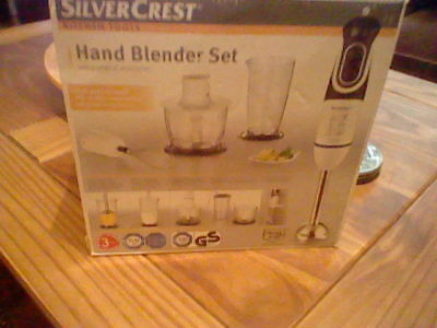 HAND BLENDER SET with accessories.new boxed
