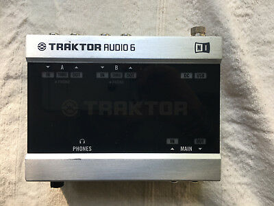Native Instruments Traktor Audio 6 - Interface