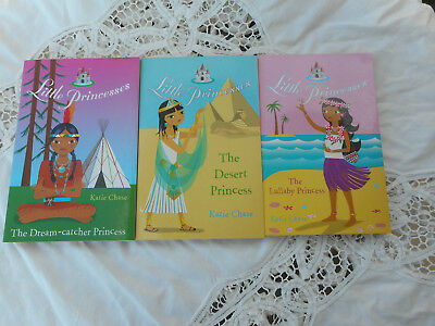 3 Little Princesses Books By Katie Chase.