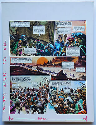 TRIGAN EMPIRE - Gerry Wood original art - Look and Learn - 1982