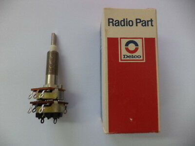 DELCO Radio On/Off,Volume & Tone Control Switch GM # 9341264 late 60s/early 70s.