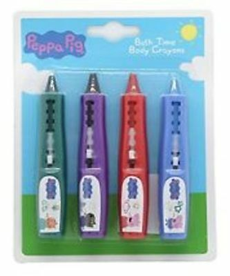 Peppa Pig Peppa Pig Gift Set Bath Time Body Crayons X 4 - NEW SEALED PACK