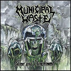 "New Music Record Municipal Waste ""Slime And Punishment"" LP"