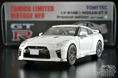 [TOMICA LIMITED VINTAGE NEO LV-N148c 1/64] NISSAN GT-R PREMIUM EDITION 2017 (WH)