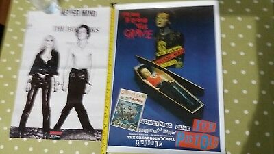 Sid Vicious posters. 1 from Kerrang. The other for Something else promo.