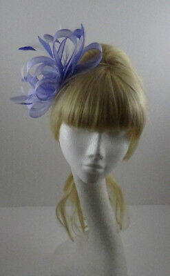Lilac fascinator on headband for wedding/mother of the bride/ascot
