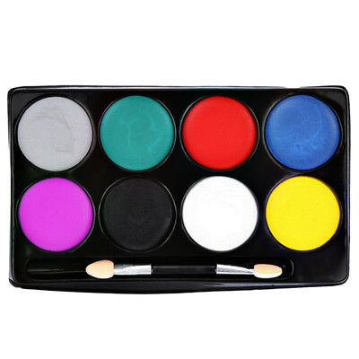 8 Color Face Paint Makeup Non-toxic Water Paint Oil Halloween Party Makup