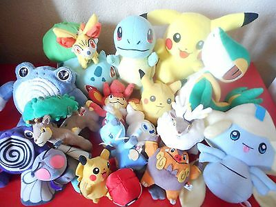 Lot De Peluches Pokemon