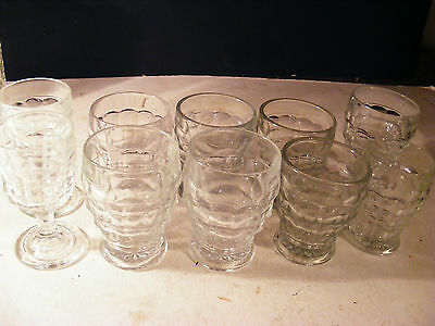 COLLECTION OF GLASSES JACOBEAN REGd